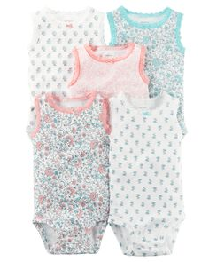Love this Pink & Blue Floral Sleeveless Bodysuit Set by Carter's on Floral Bodysuit, Carters Baby Girl, Baby Girls, Barbie, Baby Kids Clothes, Little Girl Fashion, New Baby Products, Girl Outfits, Pink Blue