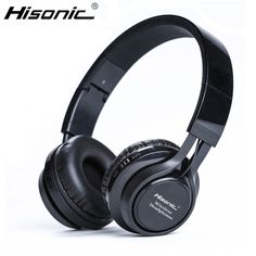 Hisonic Wireless Bluetooth Headset Headphone Foldable durable Noise Cancelling Earphone With Mic Handsfree For iPhone xiaomi //Price: $19.01//     #Gadget