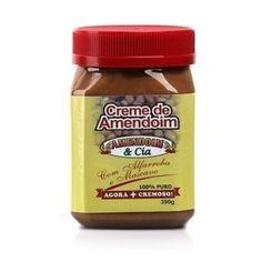 Creme de Amendoim com Alfarroba e Mascavo Amendoim & Cia.