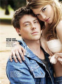 Plus Cory Monteith. Minus that chick Cory Glee, Lea And Cory, Hello Beautiful, Beautiful Smile, Beautiful People, Kim Myers, Finn Hudson, Imaginary Boyfriend, Glee Cast