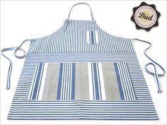 Fathers Day with Fabric.com: Cooks Apron & Matching Hot Mitt | Sew4Home