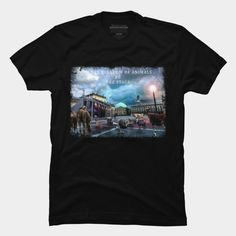 Kingdom Of Animals T Shirt By ElArrogante Design By Humans Ringer Tee, Muscle Tanks, V Neck T Shirt, Pullover, T Shirts For Women, Woman, Tees, Mens Tops, Animals