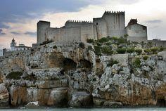Place: Castillo del Papa Luna, Peñiscola / Comunidad Valenciana, Spain. Photo by: Unknown
