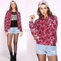 All Rosy Baby - Full print roses jacket, monogram roses. Rose Jacket, Trendy Dresses, Clubwear, Cool Outfits, Autumn Fashion, Graphic Sweatshirt, Clothes For Women, Sweatshirts, Sweaters