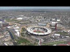London 2012 - Olympic Park - Aerial HD Footage