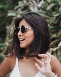 New Bob Haircuts 2019 & Bob Hairstyles 25 Bob Hair Trends for Women - Hairstyles Trends Short Medium Length Hair, Medium Hair Styles, Curly Hair Styles, Hair Inspo, Hair Inspiration, Shoulder Length Hair, Shoulder Haircut, Hair Looks, Hair Lengths