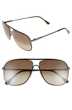 1264137c5a Tom Ford  Dominic  60mm Aviator Sunglasses