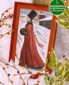 Russian Girl in winter 1903 (1 of 5) | Gallery.ru | Очень нравится | uiglon