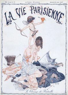 Chéri Hérouard (1881 – 1961). La Vie Parisienne, 21 Avril 1917. [Pinned 19-vii-2015]