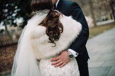 Perfect bridal hair-