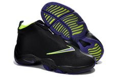 Nike Air Zoom Flight The Glove Lakers #Nike #Air #Zoom #Flight #Shoes