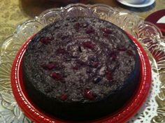 A West Indies Christmas would not be complete without Black Fruit Cake!