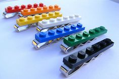LEGO® Brick NOVELTY TIE PIN. For all those lego's we made and to the missing pieces. #TrushaDesai.com