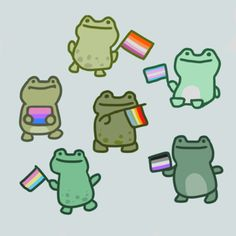 Frog Pictures, Cute Pictures, Paar Tattoos, Frog Art, Cute Frogs, Frog And Toad, Cute Gay, Mood Pics, Cute Illustration