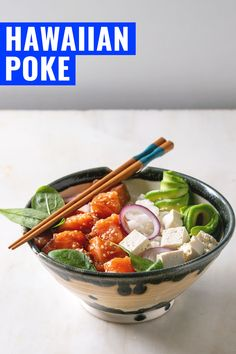 Wondering how to make poke? This Hawaiian poke recipe takes only 5 minutes. The fresh dish is found everywhere in Hawaii and so healthy and gluten-free. Hawaiian Poke, Poke Recipe, Around The World Food, Magic Recipe, Easy Meals, Easy Recipes, International Recipes, Original Recipe, The Fresh