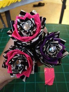 Beautiful Flower duct tape pens