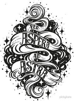 Per Aspera Ad Astra Latin phrase
