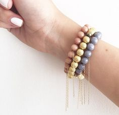 sweet sweet summatimeeeee #kayandjobracelets #armparty #summer #handmadejewelry www.kayandjo.com