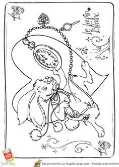Hugolescargot Coloriage Alice Lapin