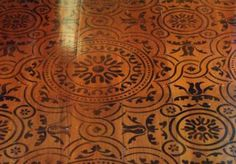 Gothic, Medieval and Tudor stencil designs