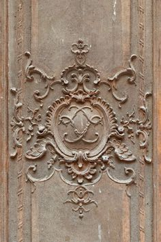Louis XV, château de Fontainebleau. Art Ancien, Plaster Art, Iron Orchid Designs, Ornaments Design, Wood Interiors, Wood Paneling, Wall Panelling, Expositions, Monochrom