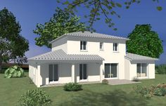 Terrain Constructible, House Extensions, Sweet Home, Construction, Mansions, House Styles, Villas, Images, Home Decor