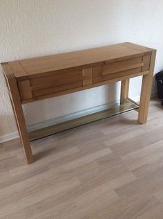 Marks And Spencers Oak Console Table