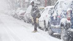Výdatné sneženie zasiahlo aj Bratislavu.   Nový Čas