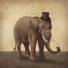 Gentleman Elephant