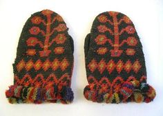 Mittens from Laitila, from the year 1895.