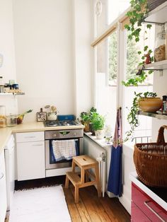 Image result for small european apartment kitchens