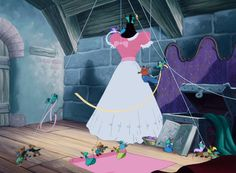 """""""We'll make a lovely dress for Cinderelly!"""""""
