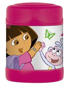I'm learning all about Thermos Funtainer Food Jar Dora The Explorer at @Influenster!