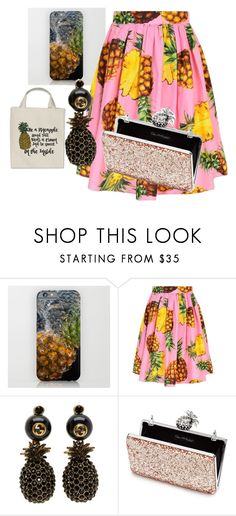 """""""pineapple"""" by kmproducts on Polyvore featuring Dolce&Gabbana, Gucci and Miss Selfridge"""