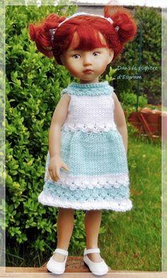 Tuto de la robe de Mai pour Boneka