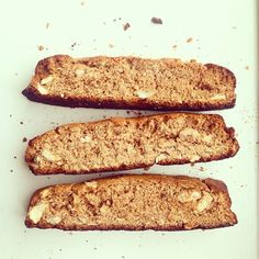 Paleo Spiced Biscotti made with chestnut flour and perfect for cold weather!