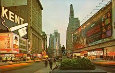 Image detail for -The Bowery Boys: New York City History: A trip to Times Square 1969 ...