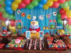 Ideias para Festa Infantil Angry Birds