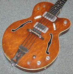 """Gretsch 6073 """"Monkees"""" 1968 Walnut"""
