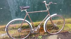 I think this bike is a 1953 Raleigh.  It has the rare Sturmey Archer AM 3 speed, close ratio hub.  I haven't yet equipped it with brakes.