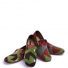 Men's Kilim Slippers