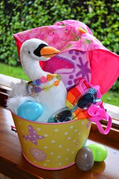 Easter Basket Ideas without so much candy!