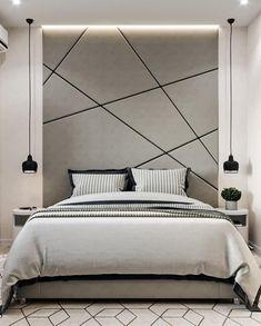 Interior Design Classes, Retro Interior Design, Bed Back Design, Bed Design, Small Bedroom Furniture, Bedroom Decor, Living Room Designs, Living Spaces, Living Room Tv Unit