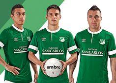 Deportivo Cali 2014 Umbro Home and Away Jerseys