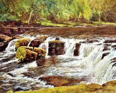 Chasing Waterfalls - How to Paint Moving Water in Acrylics with ...