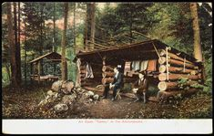 Adirondack Camping Shelte