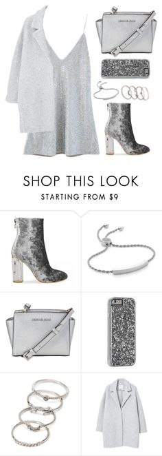 """""""Ice princess"""" by styles-that-kihles ❤ liked on Polyvore featuring VFiles, Monica Vinader, MICHAEL Michael Kors, Case-Mate, Forever 21 and MANGO"""
