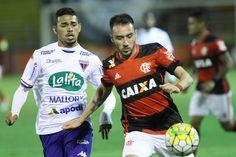 Fim de jogo: Flamengo 1 x 2 Fortaleza. O Flamengo encerra sua participação na Copa do Brasil. #FLAxFOR