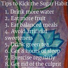 Tips to Kick the Sugar Habit