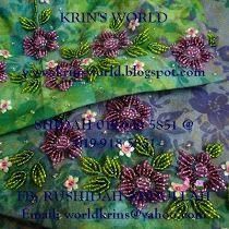 KRIN'S WORLD: BUNGA BINTANG Beading, Womens Fashion, Inspiration, Ideas, Biblical Inspiration, Beads, Women's Fashion, Pearls, Woman Fashion